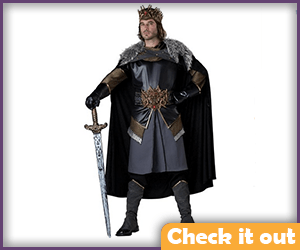 Medieval King Costume.