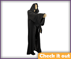 Black Fabric Robe.