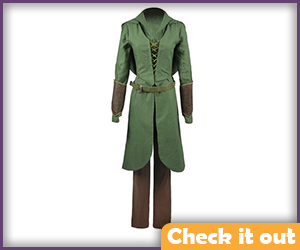 Tauriel Costume Green.