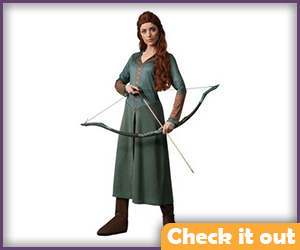 Tauriel Costume with Bow.