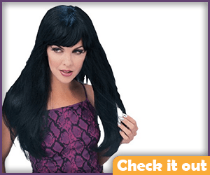 Xena Costume Wig.