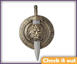 Gladiator Sword and Shield Set.