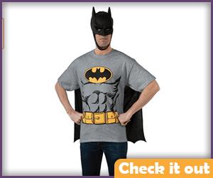 Batman Comic Tee and Mask Set.
