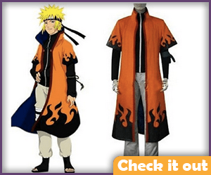 Naruto Costume Jacket Set.