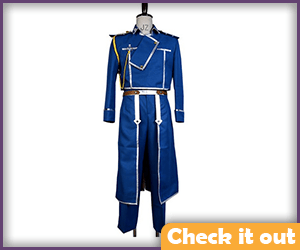 Roy Mustang Blue Set.