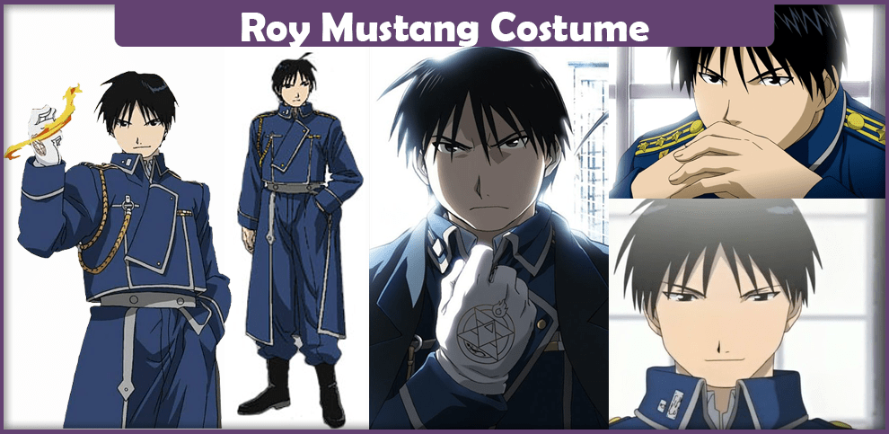 Roy Mustang Costume – A DIY Guide