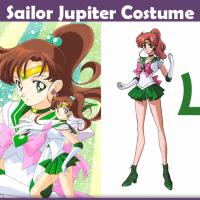 Sailor Jupiter Costume - A DIY Guide