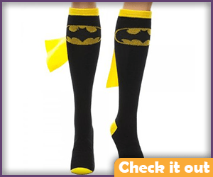 Black Batman Socks.