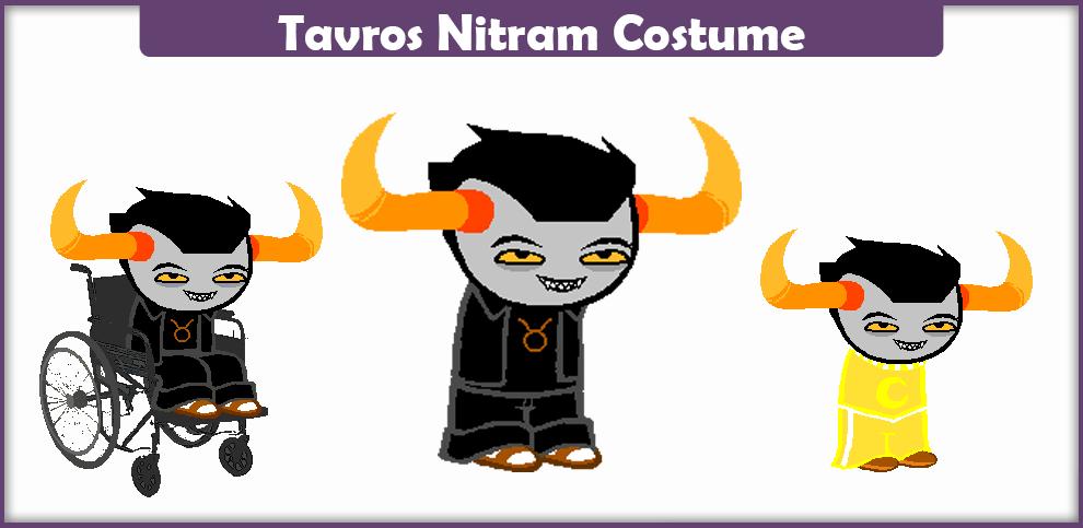 Tavros Nitram Costume – A DIY Guide