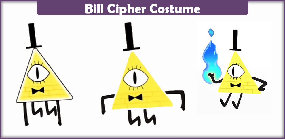 Bill Cipher Costume - A DIY Guide