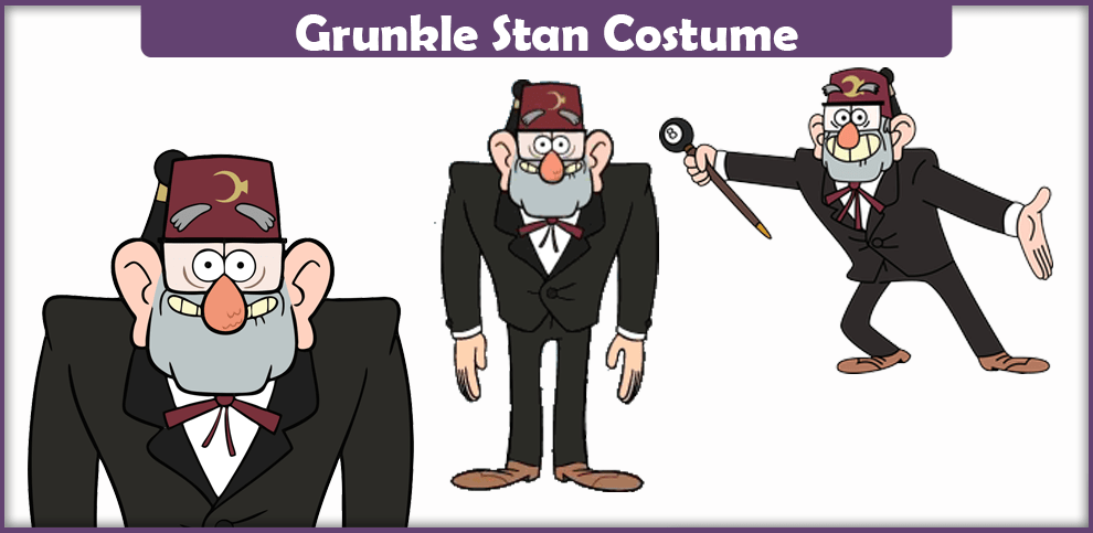 Grunkle Stan Costume – A DIY Guide