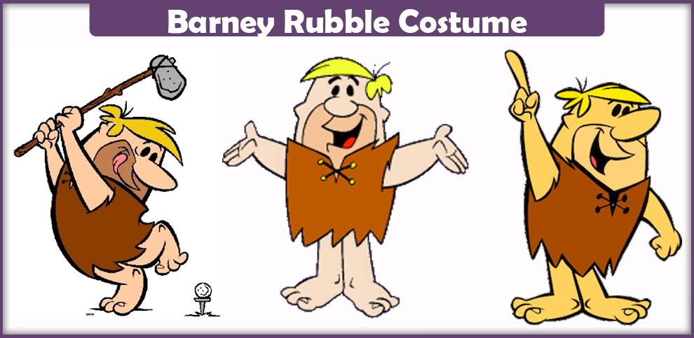 Barney Rubble Costume – A DIY Guide