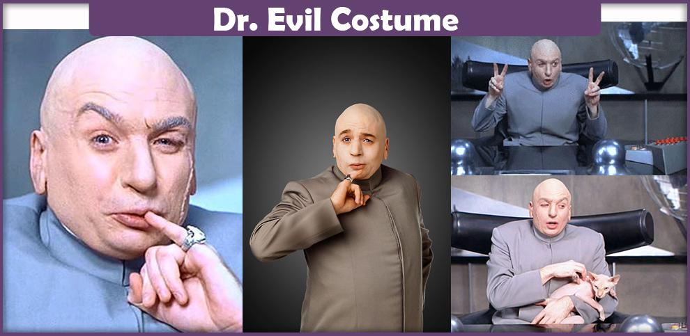 Dr. Evil Costume – A DIY Guide