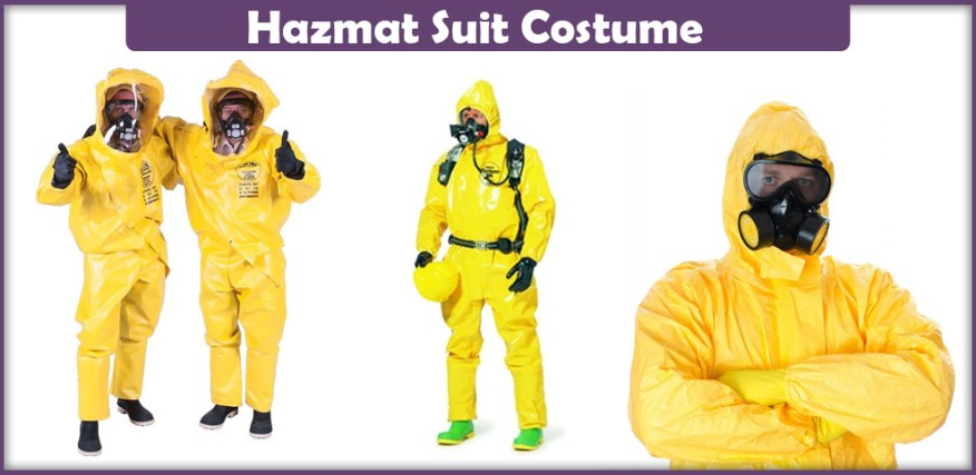 Hazmat Suit Costume - A DIY Guide - Cosplay Savvy