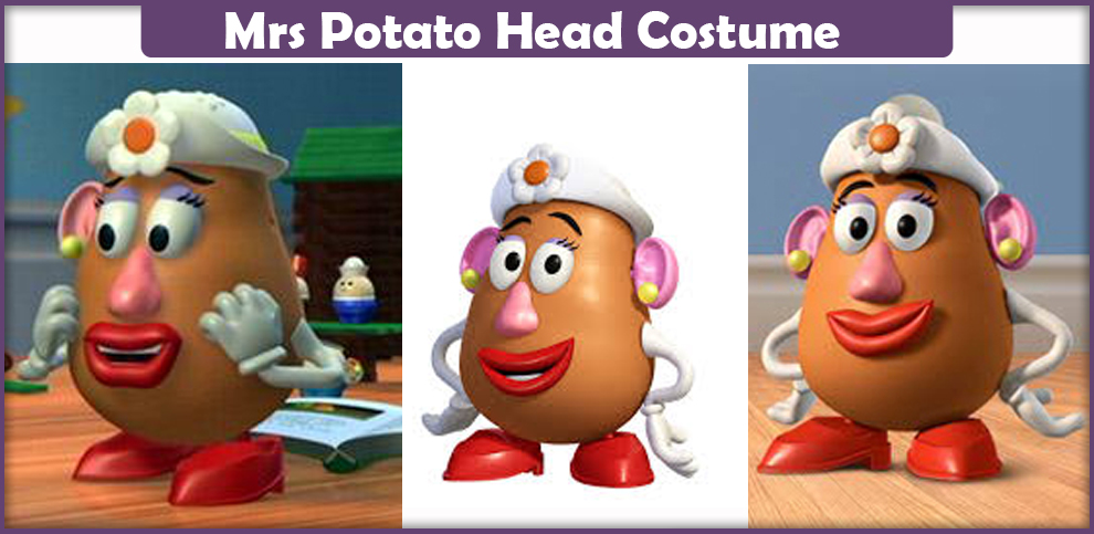 Mrs Potato Head Costume – A DIY Guide