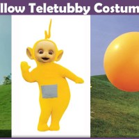 Yellow Teletubby Costume - A DIY Guide