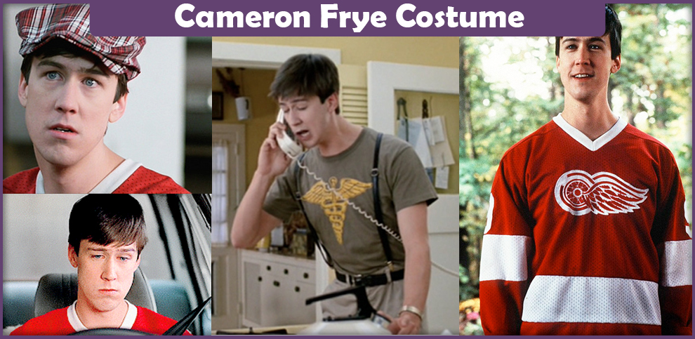 Cameron Frye Costume - A DIY Guide - Cosplay Savvy af4e803d0