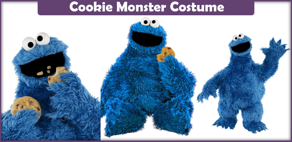 Cookie Monster Costume – A DIY Guide