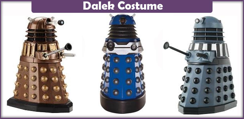 Dalek Costume – A DIY Guide