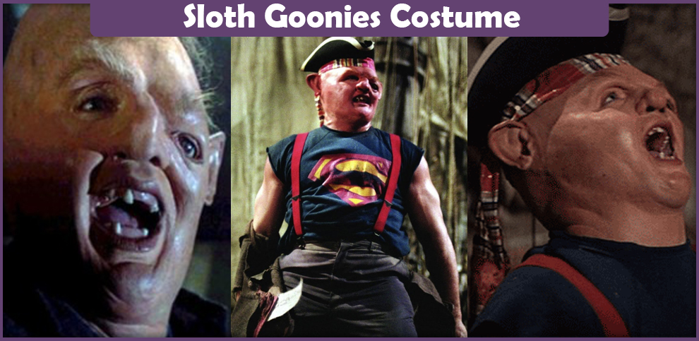 Sloth Goonies Costume