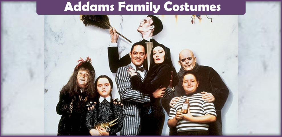 Addams Family Costumes – A DIY Guide