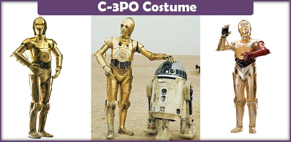 C3po Halloween Costume
