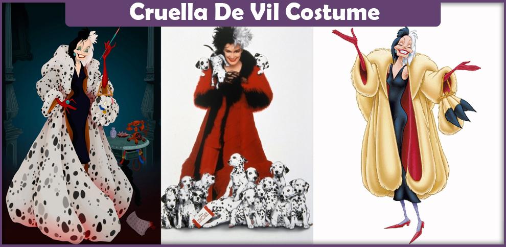 Cruella De Vil Costume – A DIY Guide