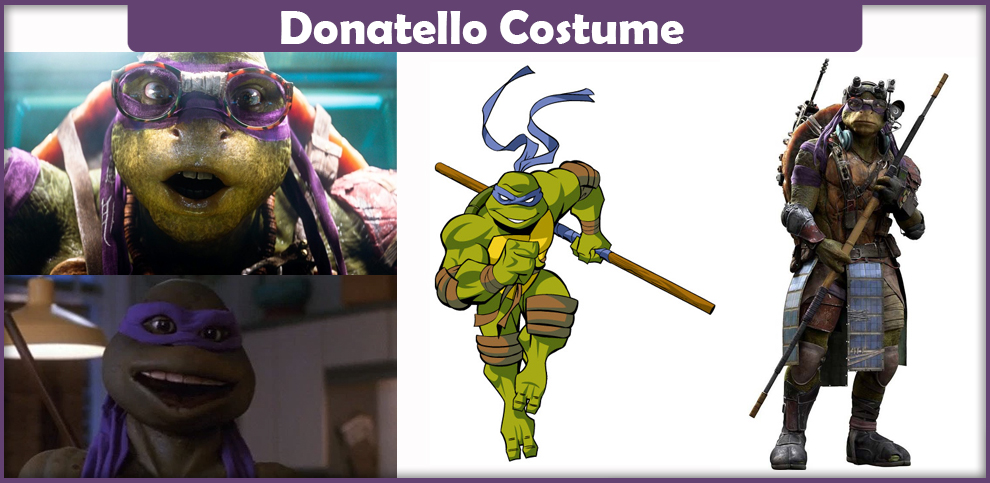 Ninja Turtle Donatello Costume
