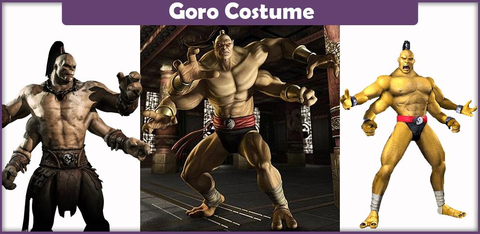 Mortal Kombat Goro Costume