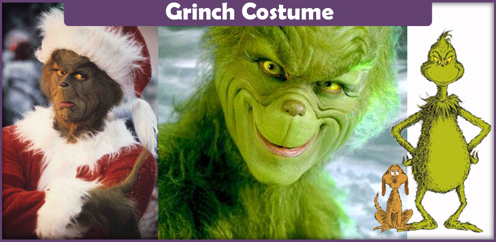 Grinch Costume – A DIY Guide