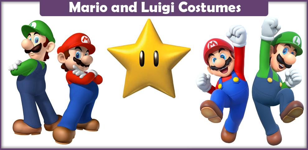 Mario And Luigi Costumes A Diy Guide Cosplay Savvy