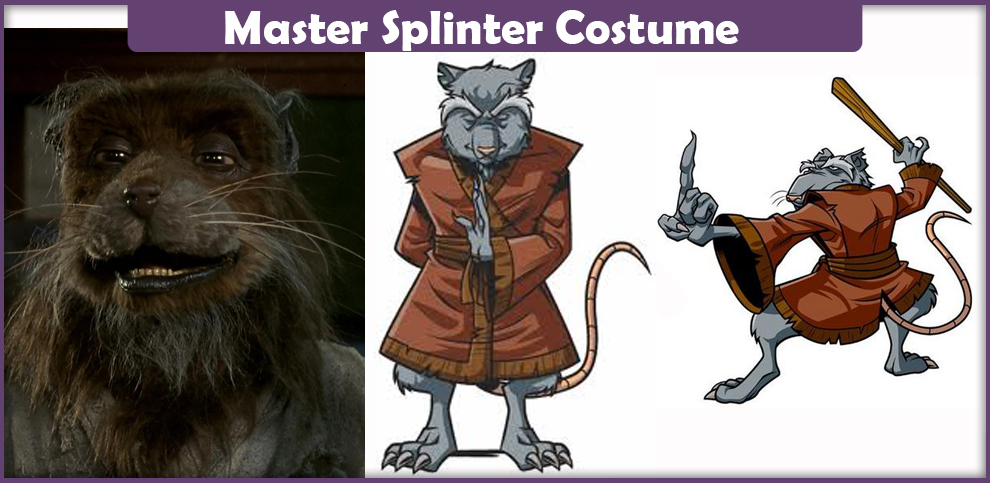 Master Splinter Costume
