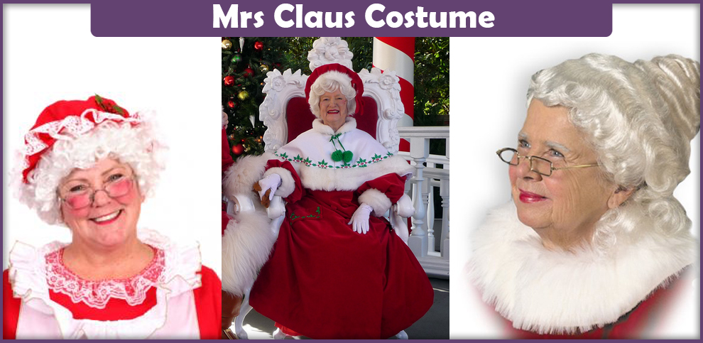 Mrs Claus Costume - A DIY Guide