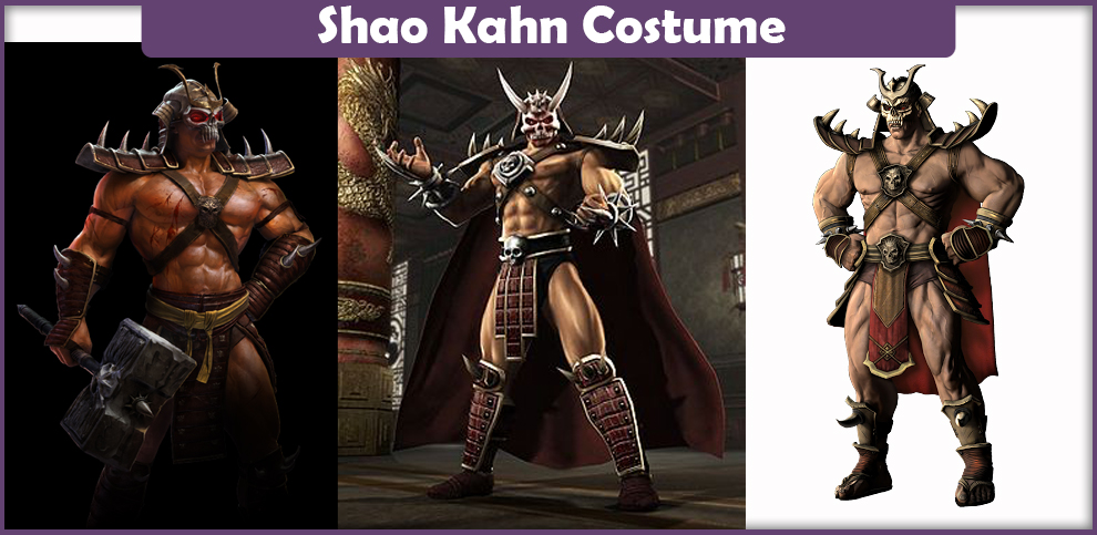 Mortal Kombat Shao Khan Costume