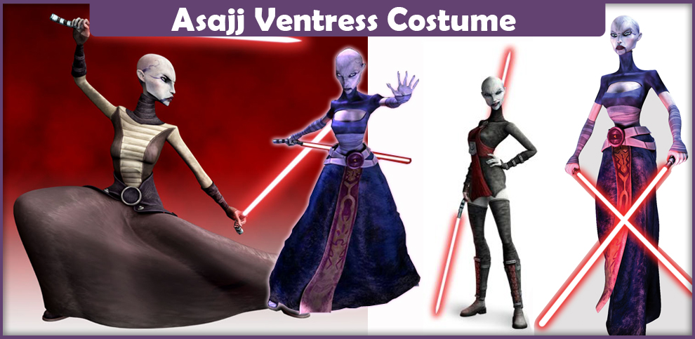 Asajj Ventress Costume