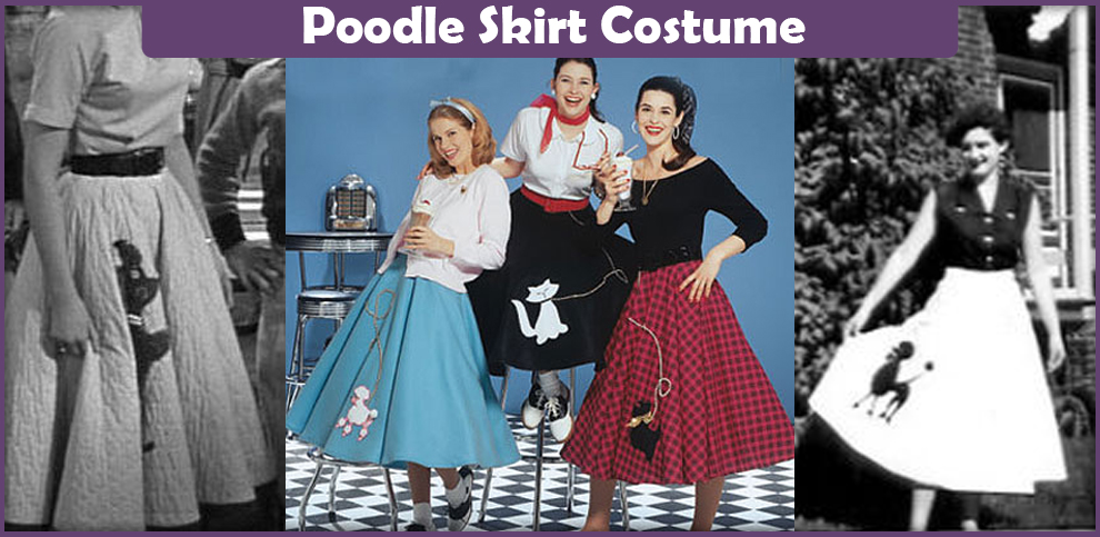 Poodle Skirt Costume – A DIY Guide
