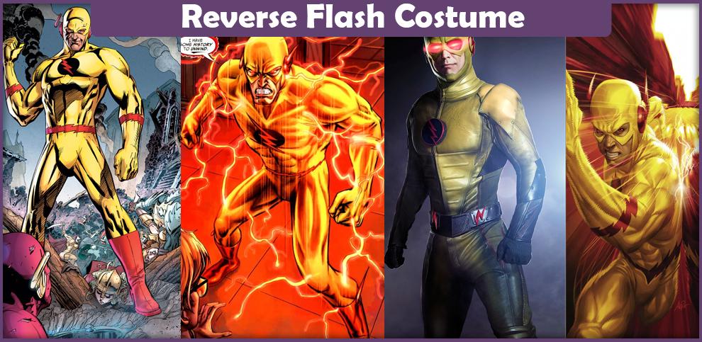 Reverse Flash Costume – A DIY Guide