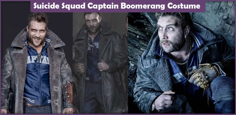 Suicide Squad Captain Boomerang Costume