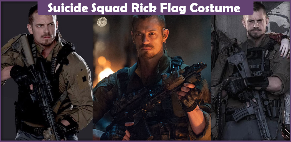 Suicide Squad Rick Flag Costume