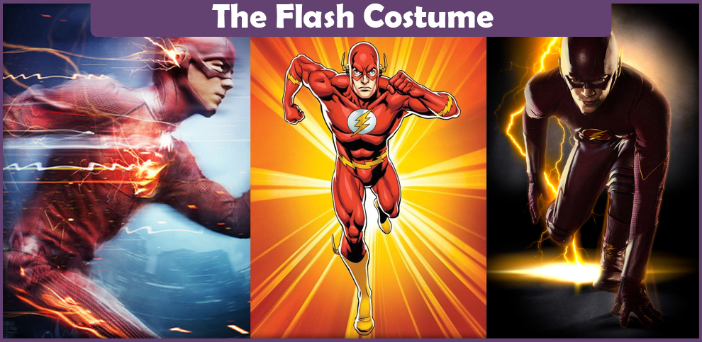 The Flash Costume – A DIY Guide