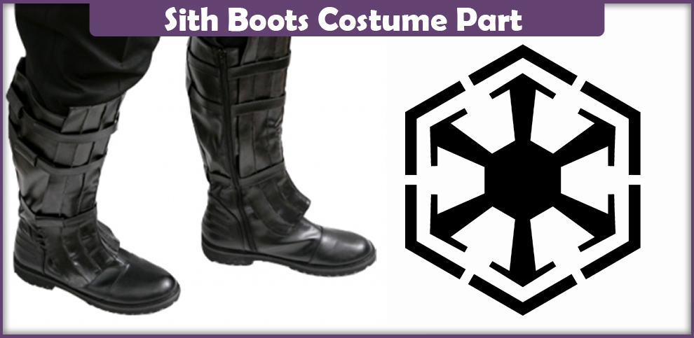 Sith Boots – A DIY Guide