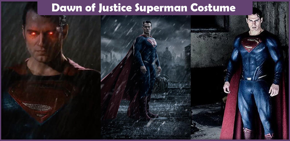 Dawn of Justice Superman Costume – A DIY Guide