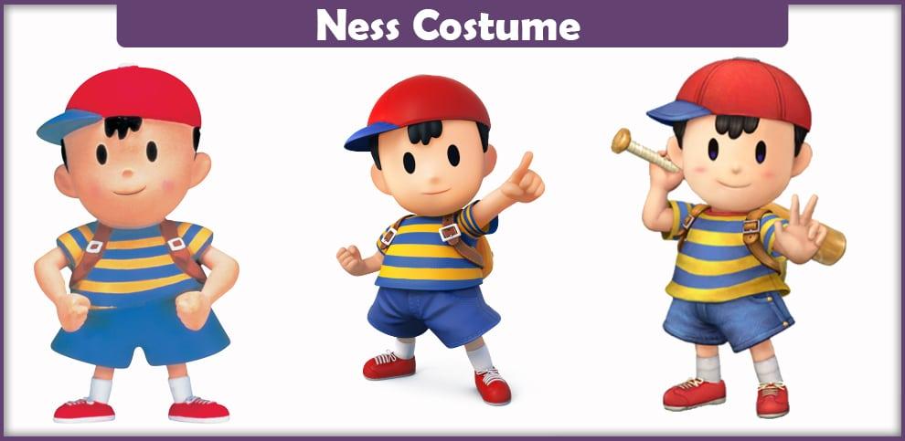 Ness Costume – A DIY Guide