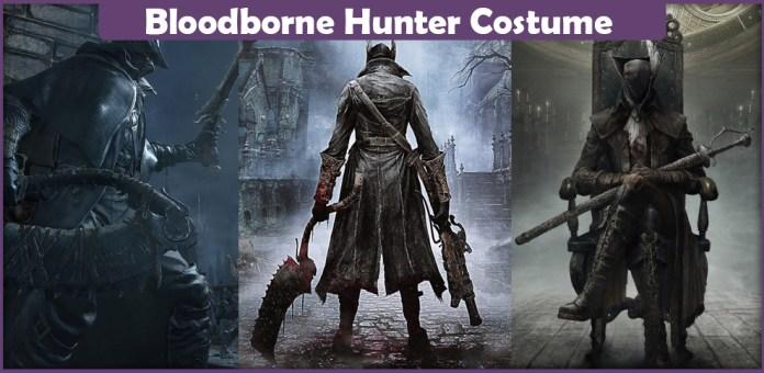 Bloodborne Hunter Costume