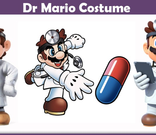 Dr Mario Costume.