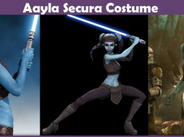 Aayla Secura Costume.