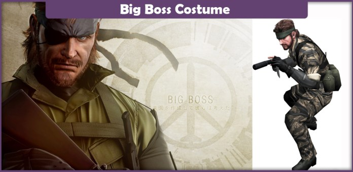 Big Boss Costume.