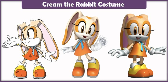 Cream the Rabbit Costume.