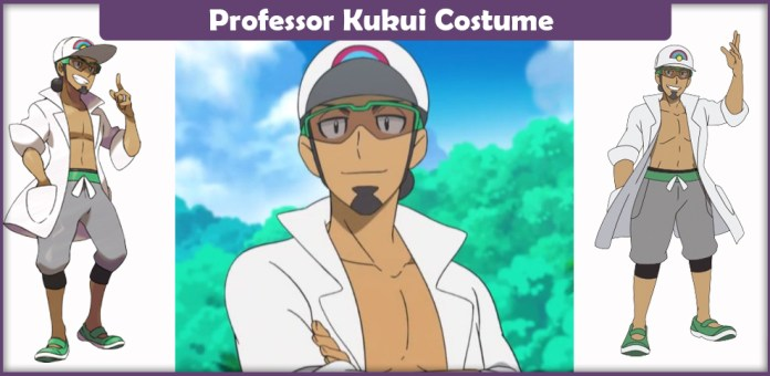Professor Kukui Costume