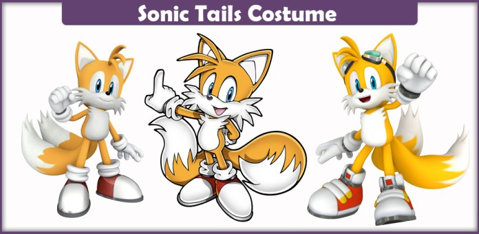 Sonic Tails Costume